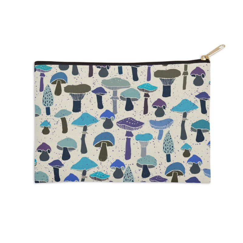 Magic mushrooms Accessories Zip Pouch by makart's Artist Shop