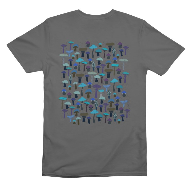 Magic mushrooms Men's T-Shirt by makart's Artist Shop