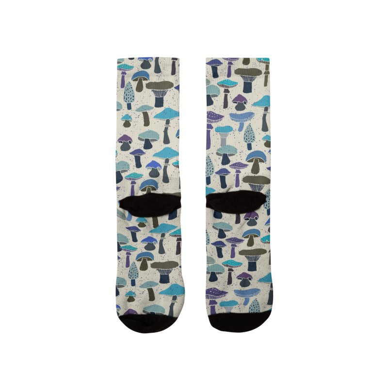 Magic mushrooms Men's Socks by makart's Artist Shop