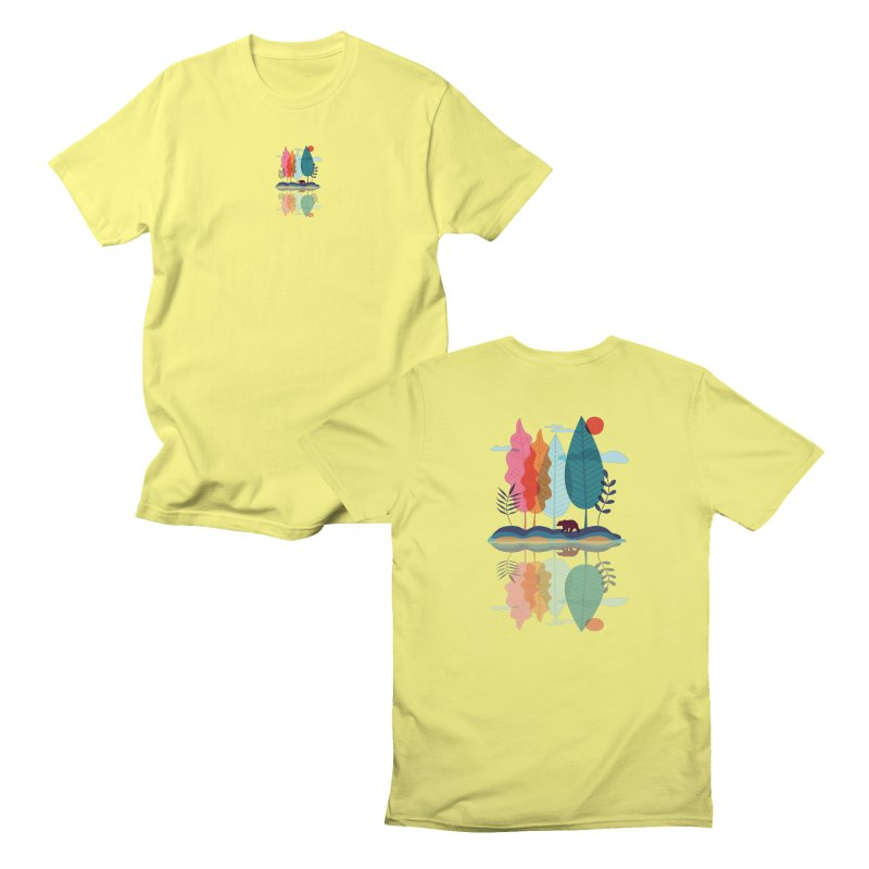 Somewhere there Men's T-Shirt by makart's Artist Shop