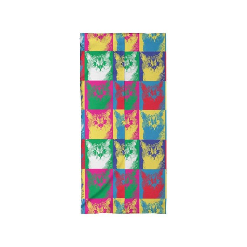 Pop art cats Accessories Neck Gaiter by makart's Artist Shop