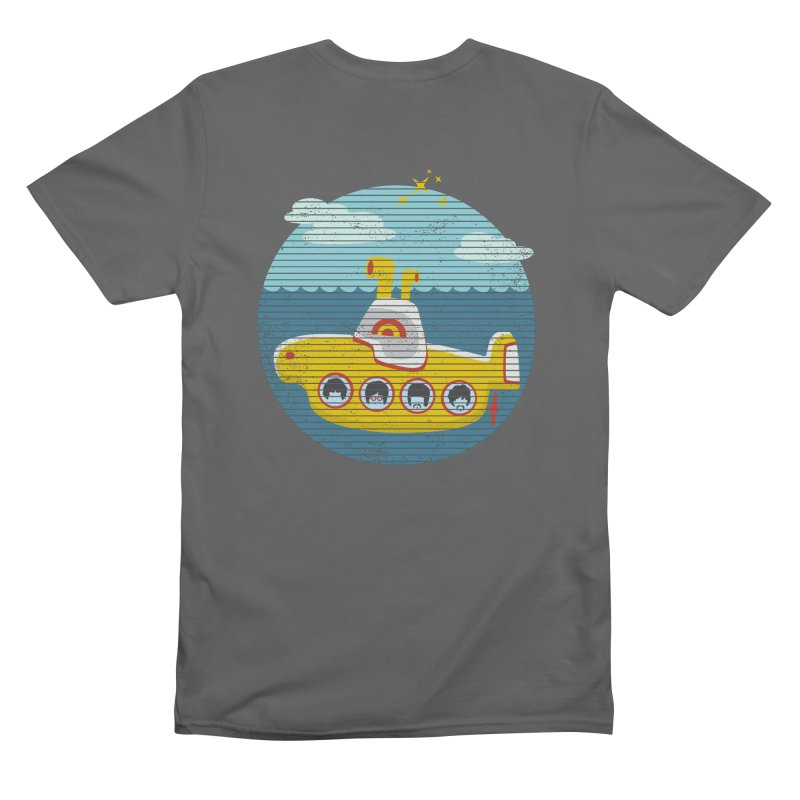 Yellow Submarine Men's T-Shirt by makart's Artist Shop