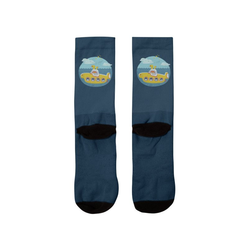 Yellow Submarine Women's Socks by makart's Artist Shop