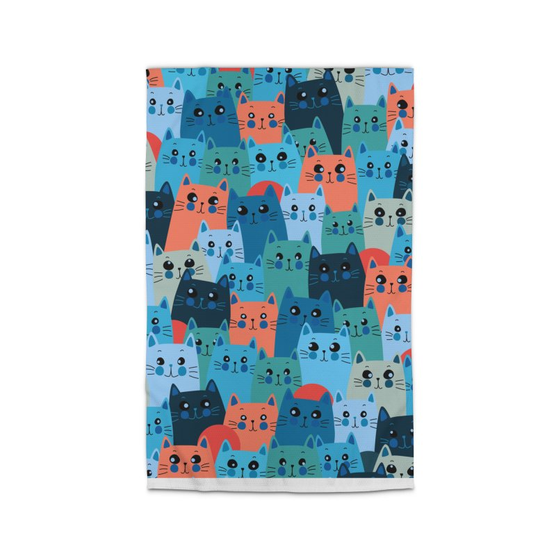 Enchanted cats Home Rug by makart's Artist Shop
