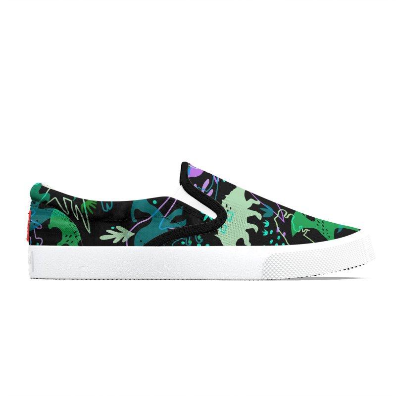 Dinosaurs 2 Women's Shoes by makart's Artist Shop