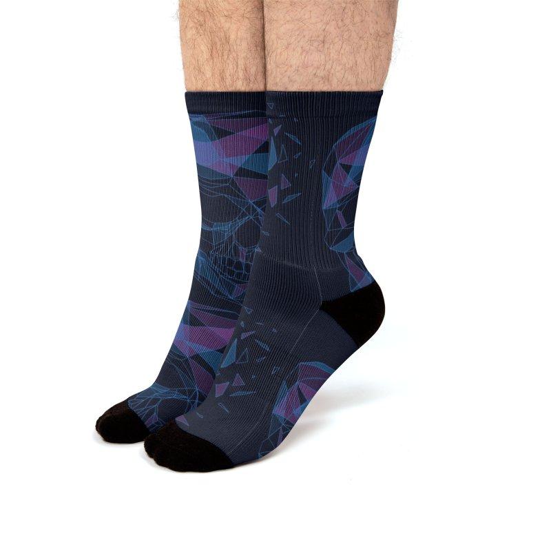 Fragile psyche Men's Socks by makart's Artist Shop