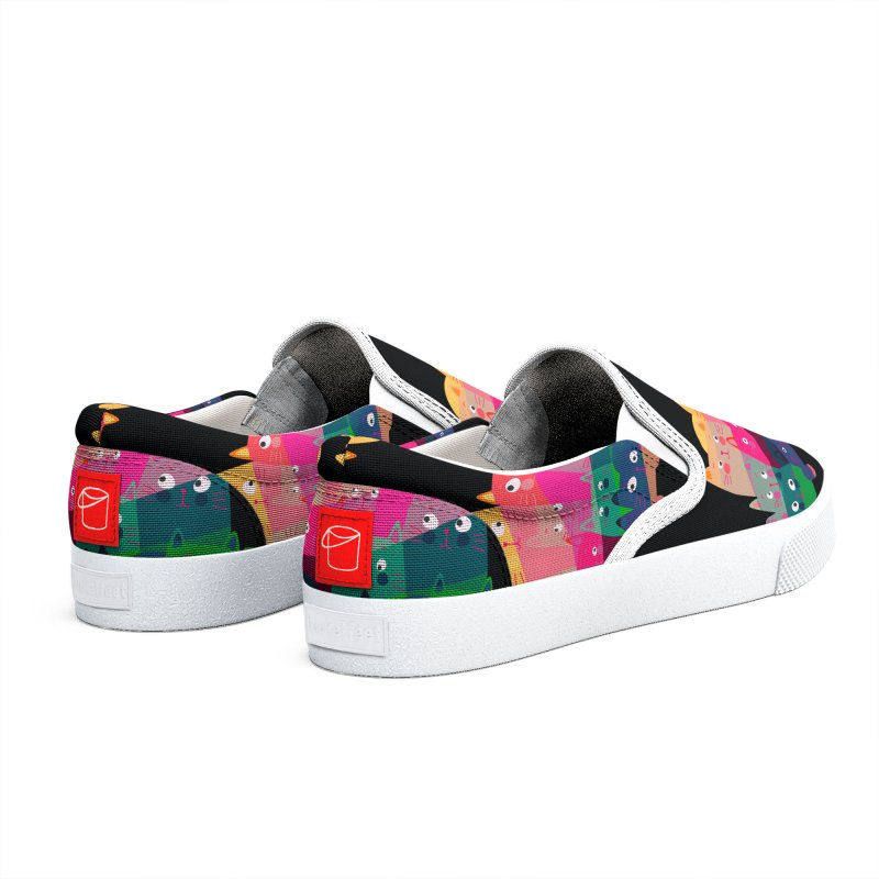 Under the Rainbow 2 Men's Shoes by makart's Artist Shop