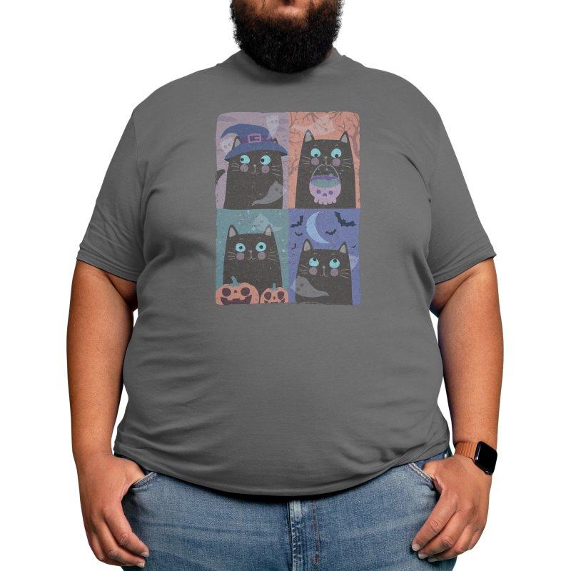 Halloween cat chronicles Men's T-Shirt by makart's Artist Shop