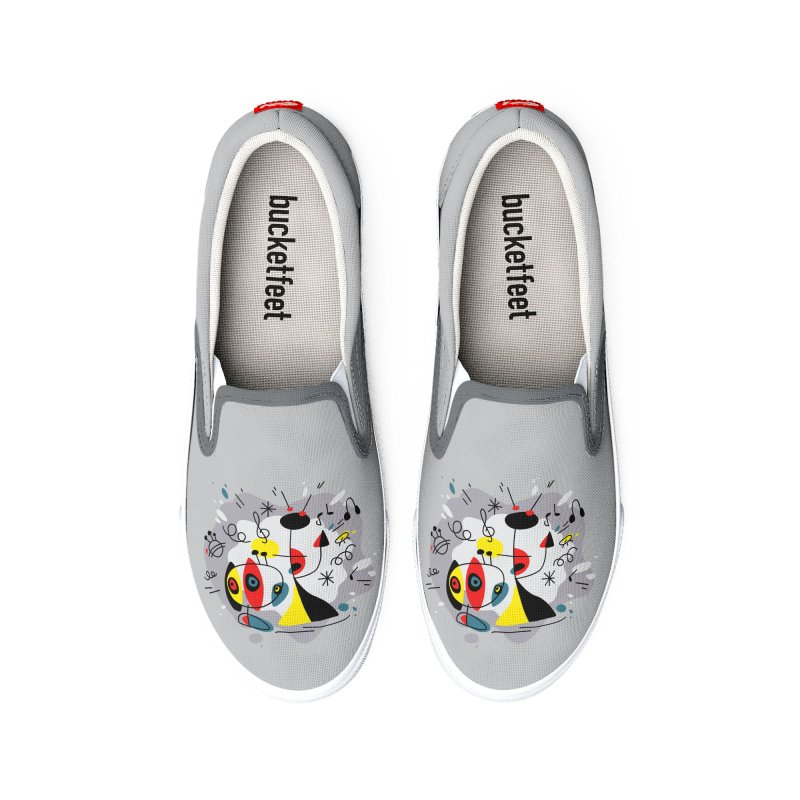 Music inspired by Joan Miro Women's Shoes by makart's Artist Shop