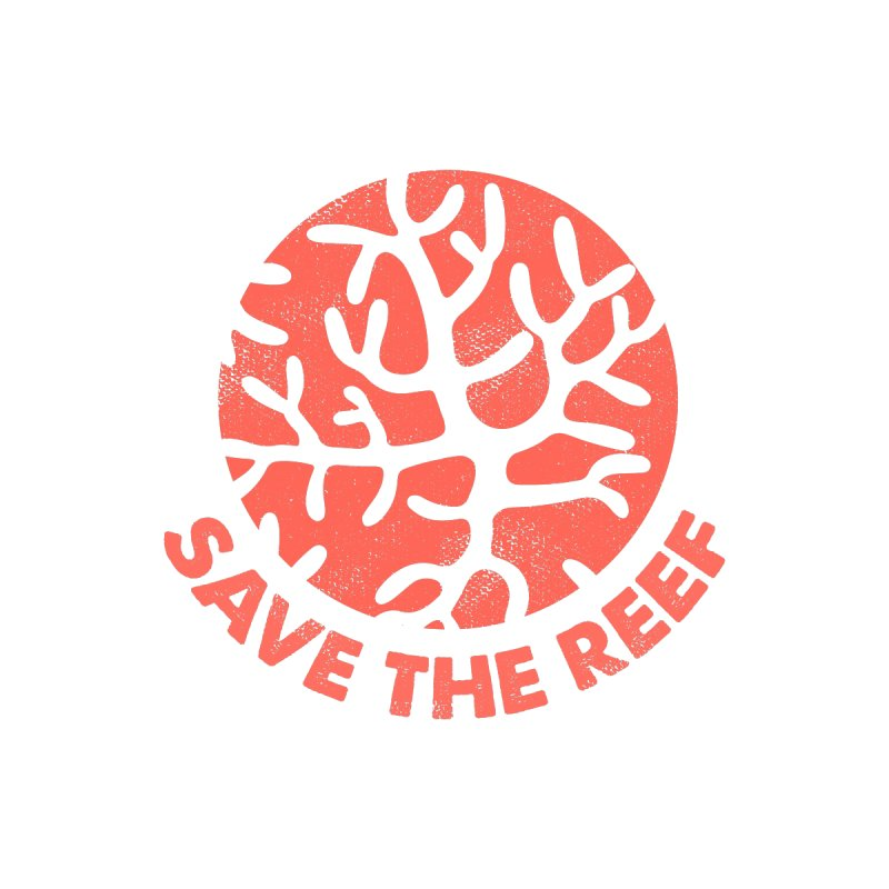 Save the reef Men's T-Shirt by makart's Artist Shop