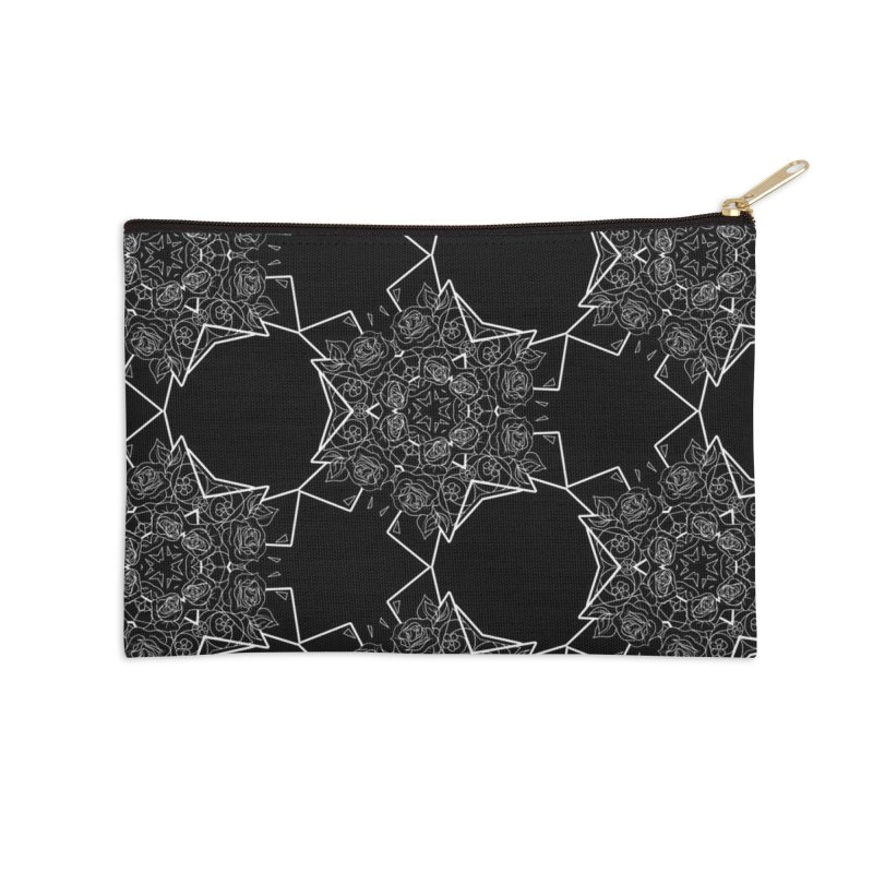 Roseidoscope Accessories Zip Pouch by Makayla's Artist Shop
