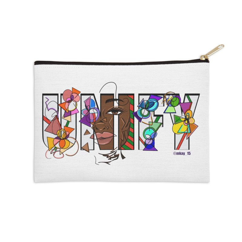 UNIFY Accessories Zip Pouch by Makayla's Artist Shop