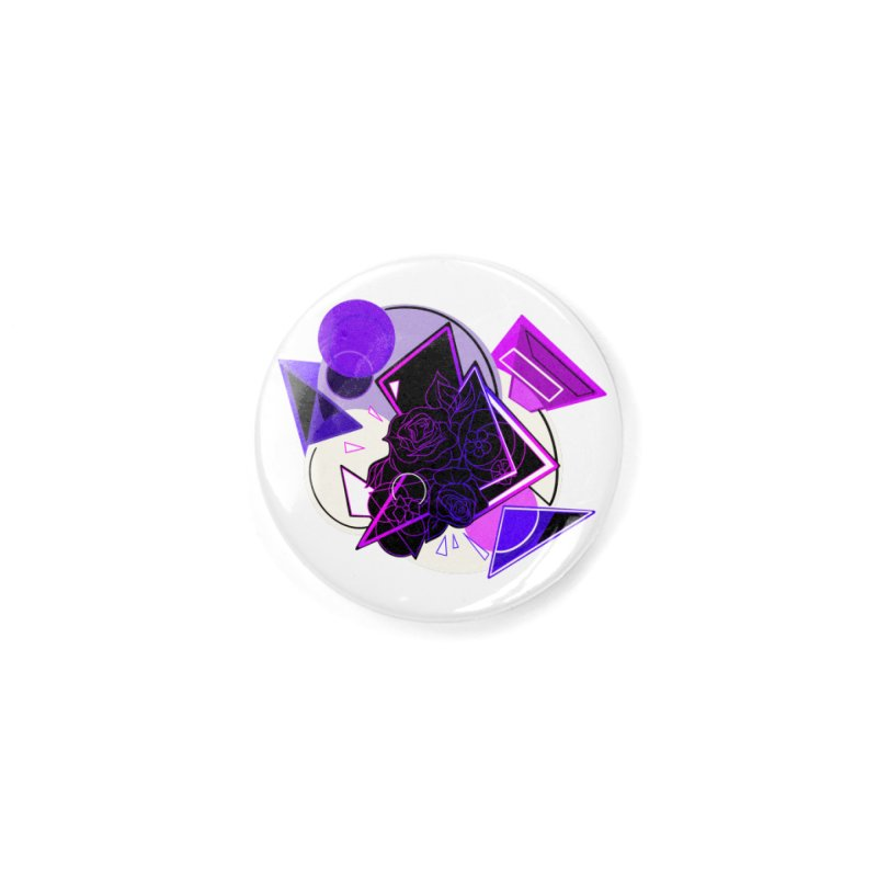 Growing in Retro Accessories Button by Makayla's Artist Shop
