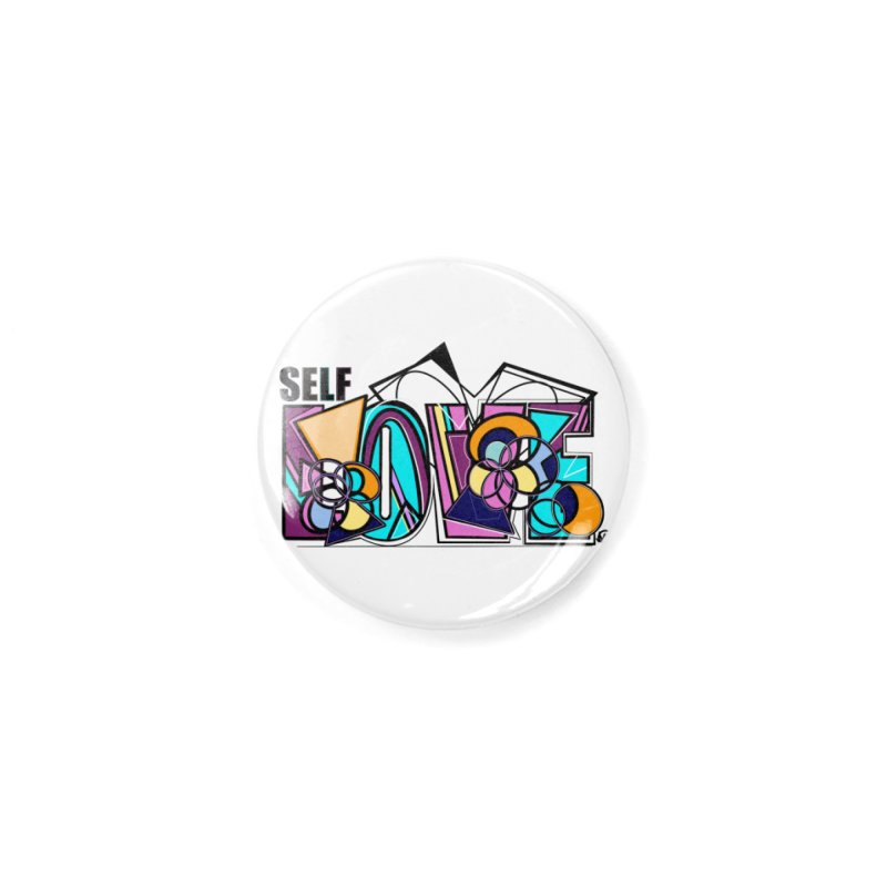 Self LOVE Accessories Button by Makayla's Artist Shop