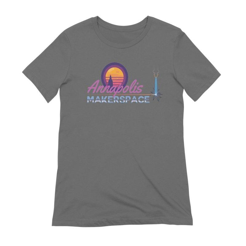 Retro Laser Women's T-Shirt by Annapolis Makerspace's Shop