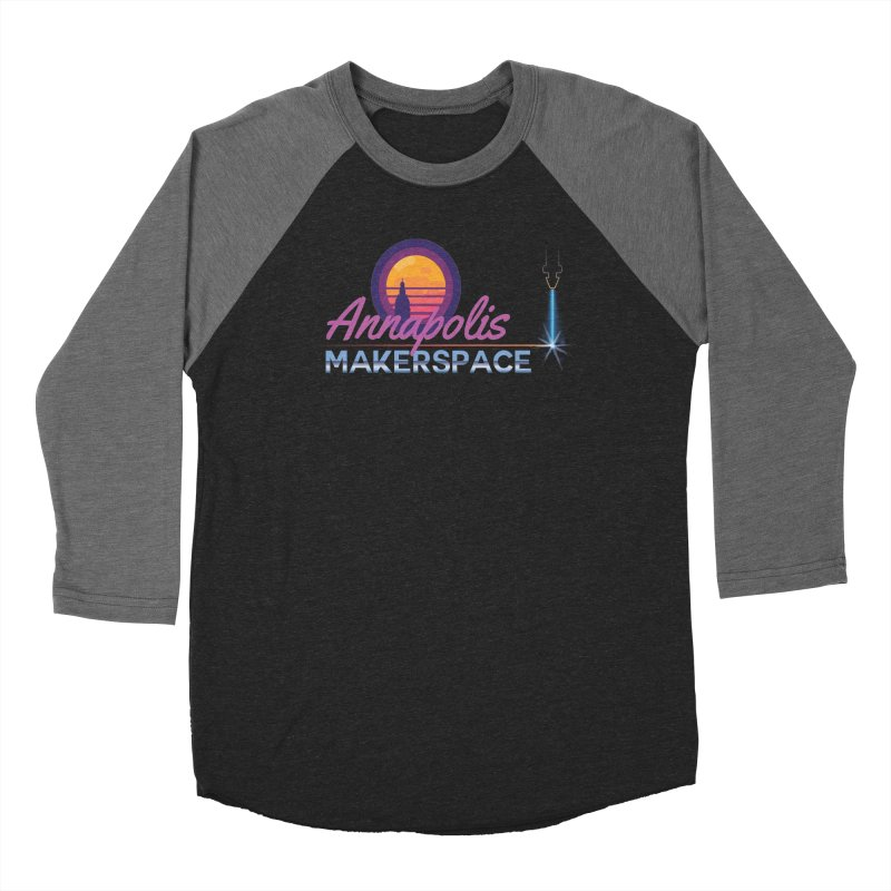 Retro Laser Women's Longsleeve T-Shirt by Annapolis Makerspace's Shop