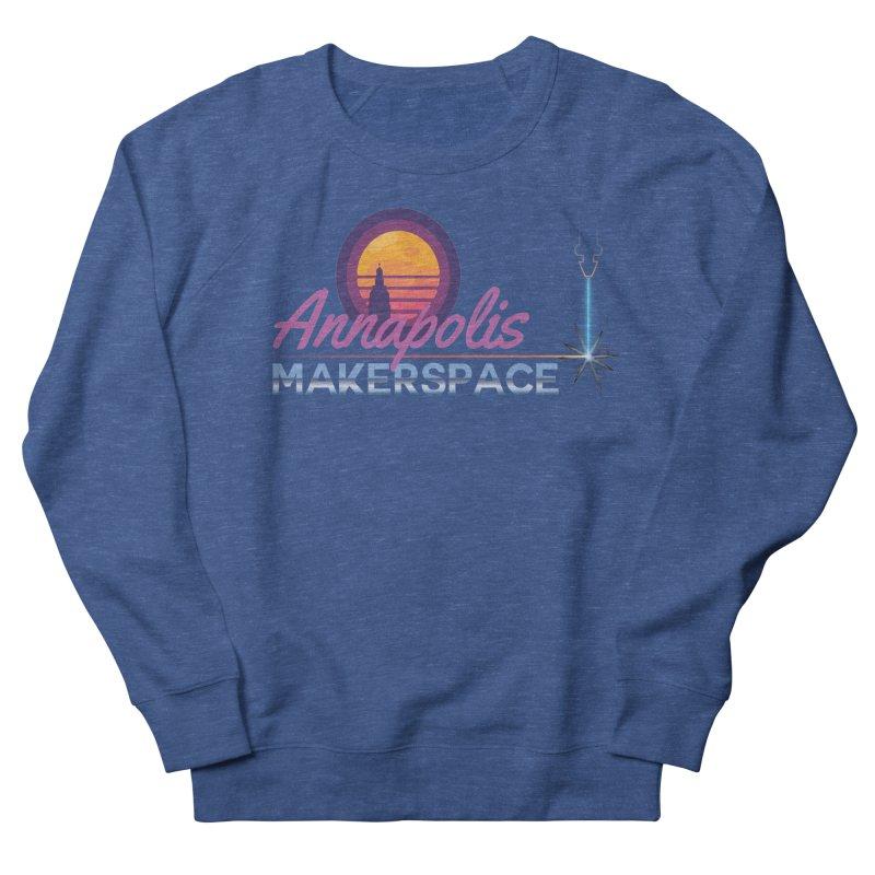 Retro Laser Men's Sweatshirt by Annapolis Makerspace's Shop