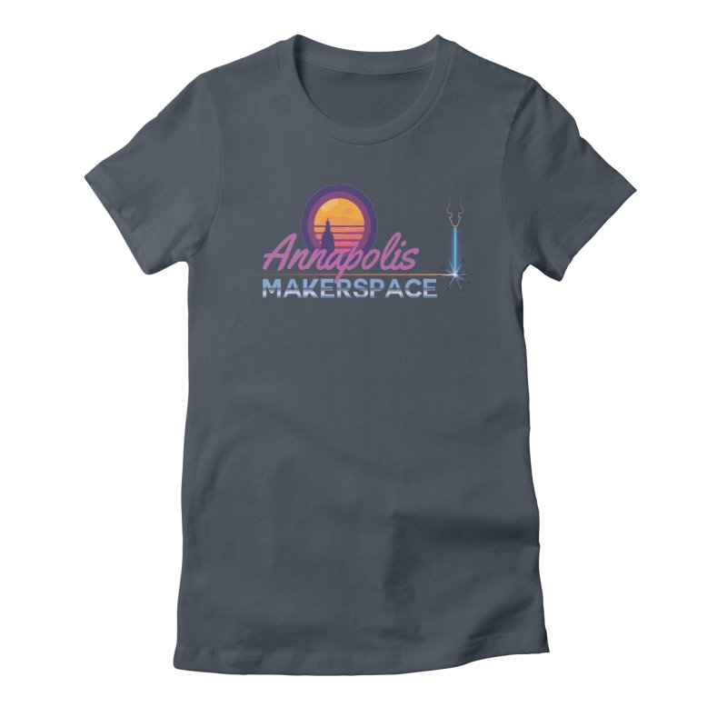 Retro Laser Women's T-Shirt by Annapolis Makerspace's Shop