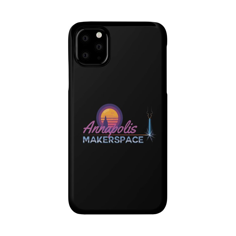 Retro Laser Accessories Phone Case by Annapolis Makerspace's Shop