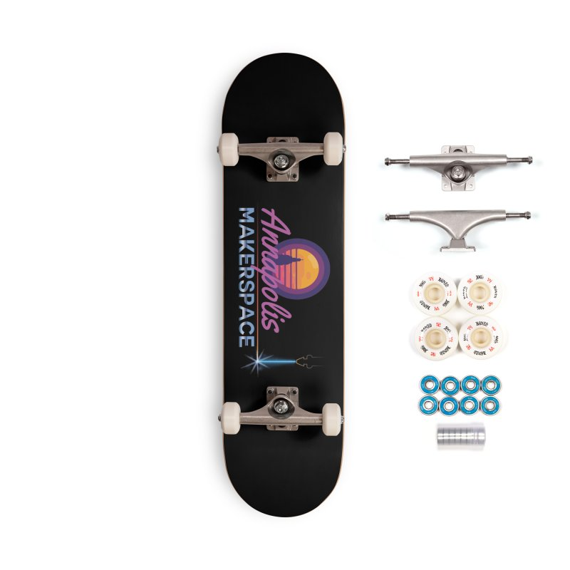 Retro Laser Accessories Complete - Premium Skateboard by Annapolis Makerspace's Shop