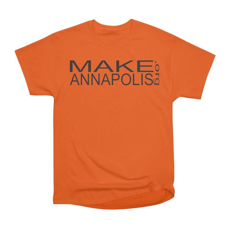 MakeAnnapolis.org (simple) Men's T-Shirt by Annapolis Makerspace's Shop