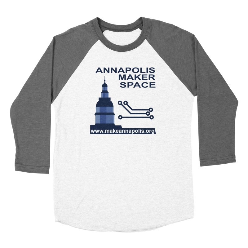 Logo - Full Women's Longsleeve T-Shirt by Annapolis Makerspace's Shop