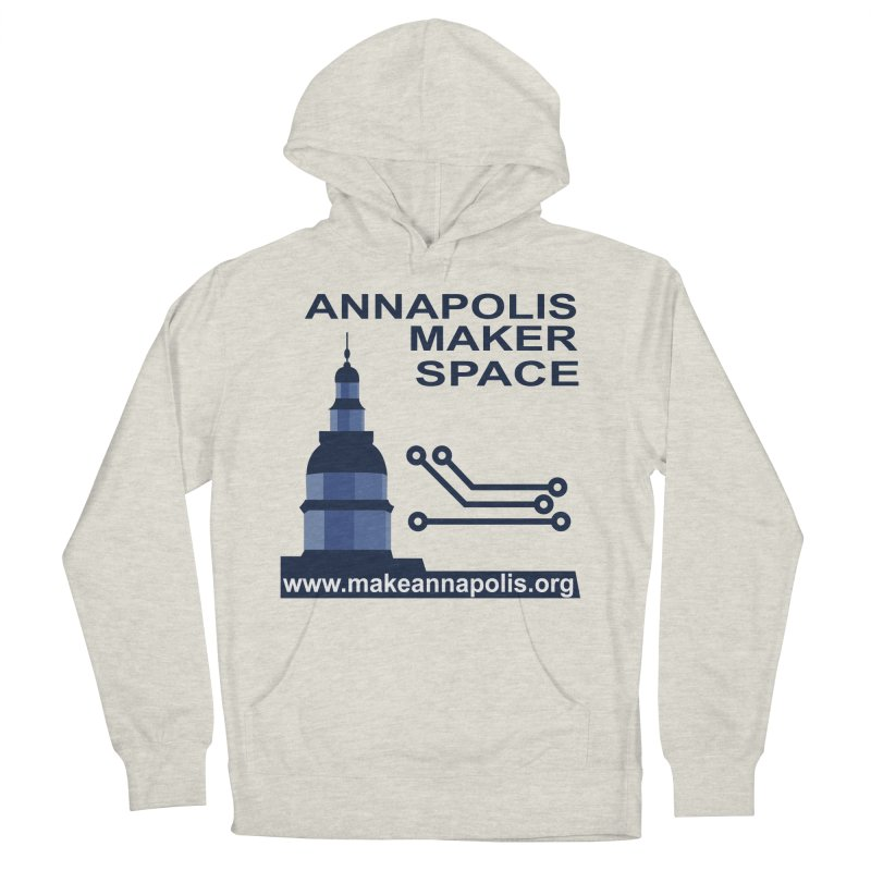 Logo - Full Women's French Terry Pullover Hoody by Annapolis Makerspace's Shop