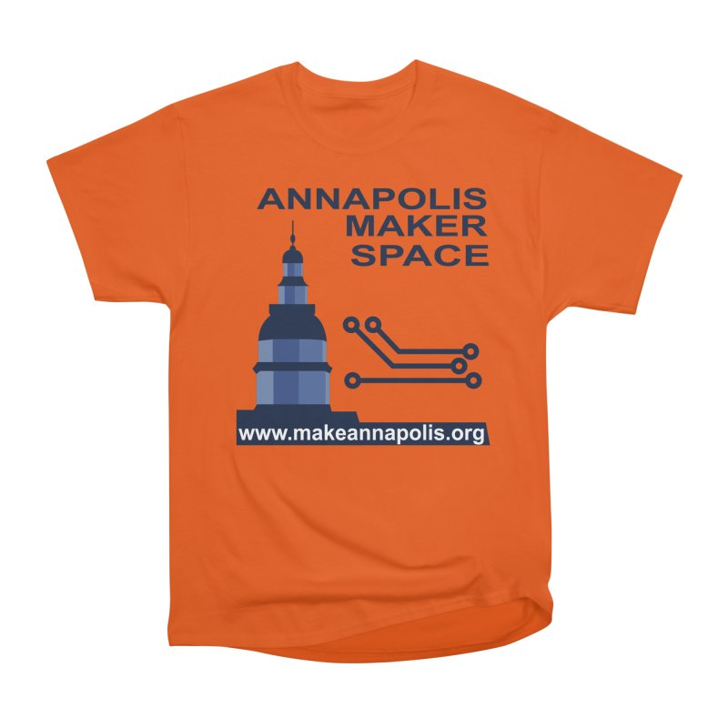 Logo - Full Men's T-Shirt by Annapolis Makerspace's Shop