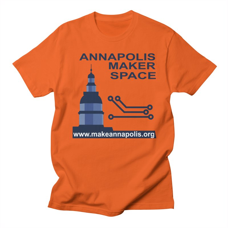 Logo - Full Women's Regular Unisex T-Shirt by Annapolis Makerspace's Shop