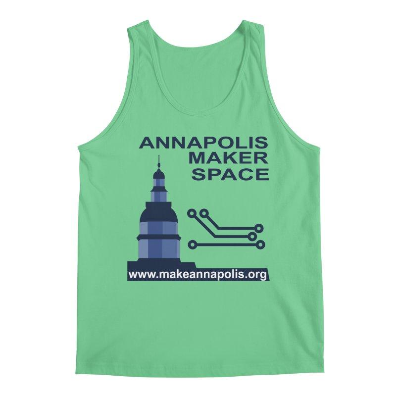 Logo - Full Men's Tank by Annapolis Makerspace's Shop