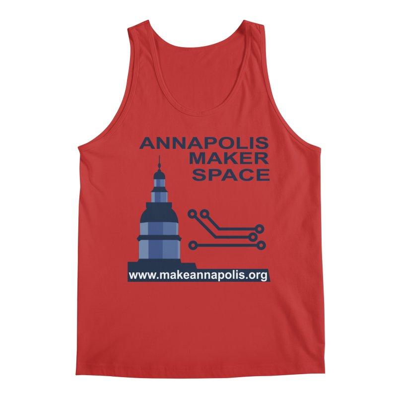 Logo - Full Men's Regular Tank by Annapolis Makerspace's Shop