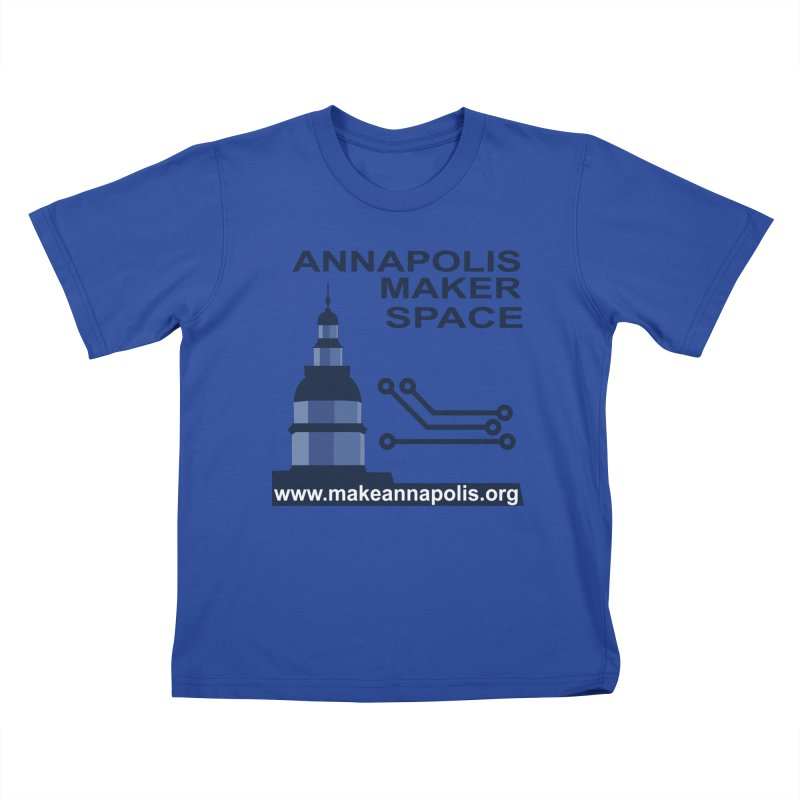 Logo - Full Kids T-Shirt by Annapolis Makerspace's Shop
