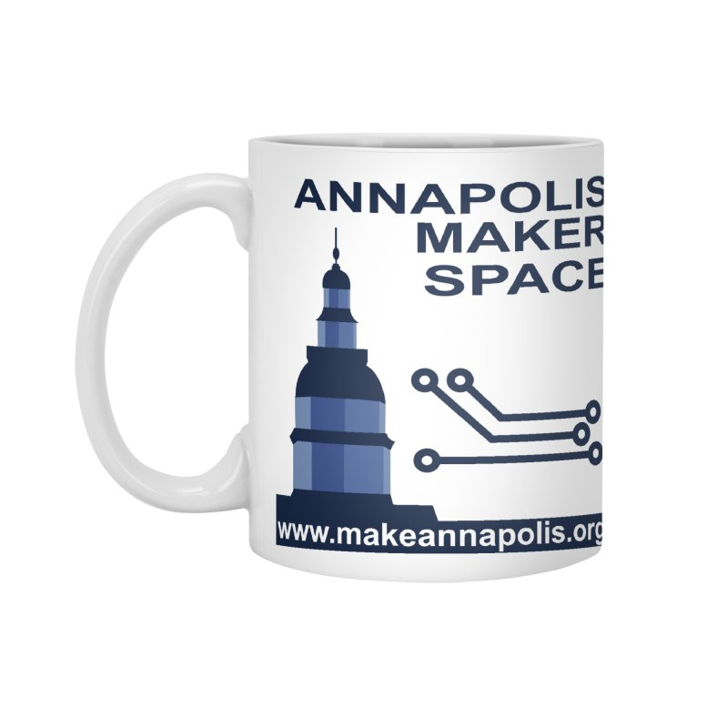 Logo - Full Accessories Standard Mug by Annapolis Makerspace's Shop