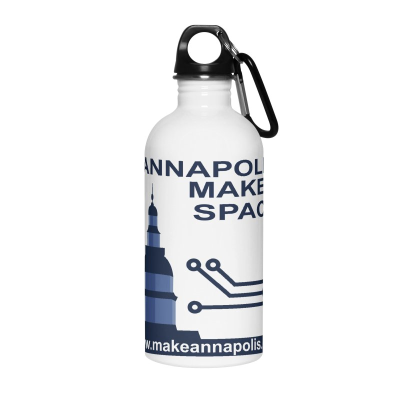 Logo - Full Accessories Water Bottle by Annapolis Makerspace's Shop