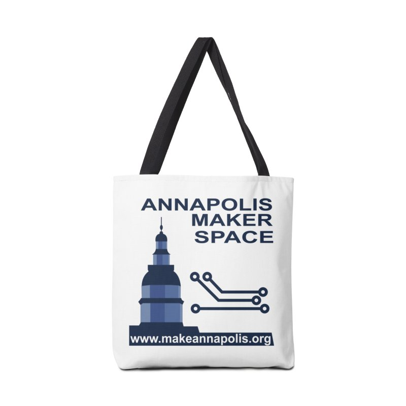 Logo - Full Accessories Tote Bag Bag by Annapolis Makerspace's Shop