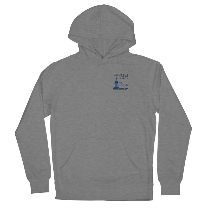 Logo - Small Women's French Terry Pullover Hoody by Annapolis Makerspace's Shop