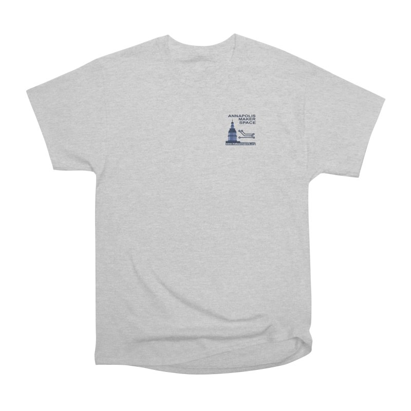 Logo - Small Women's Heavyweight Unisex T-Shirt by Annapolis Makerspace's Shop