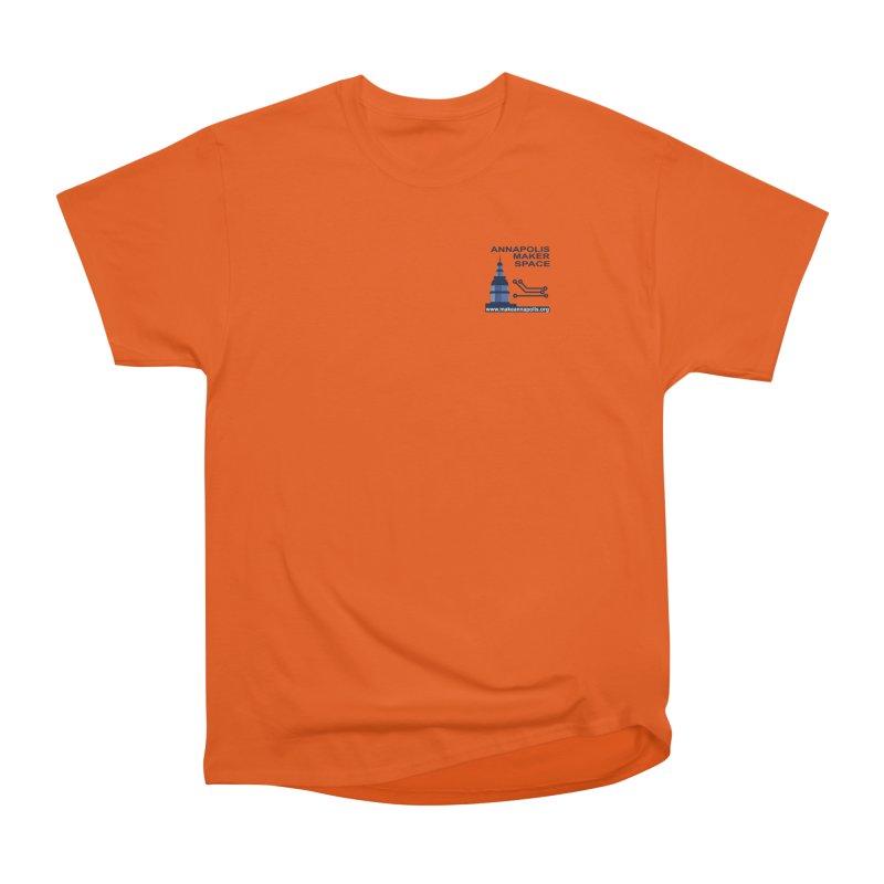 Logo - Small Men's T-Shirt by Annapolis Makerspace's Shop