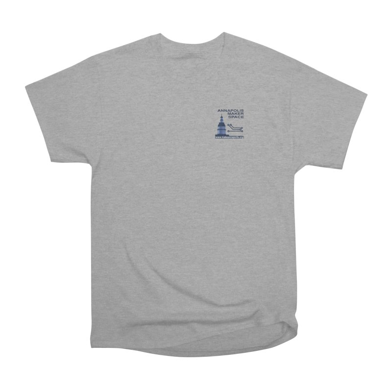 Logo - Small Men's Heavyweight T-Shirt by Annapolis Makerspace's Shop