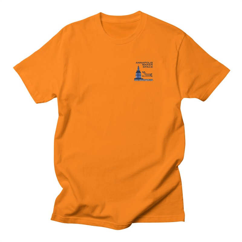 Logo - Small Men's Regular T-Shirt by Annapolis Makerspace's Shop