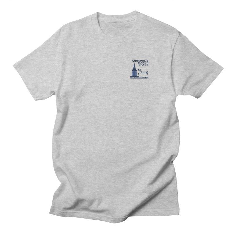 Logo - Small Men's Regular T-Shirt by Annapolis Makerspace's Shop