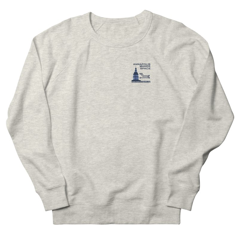 Logo - Small Women's French Terry Sweatshirt by Annapolis Makerspace's Shop