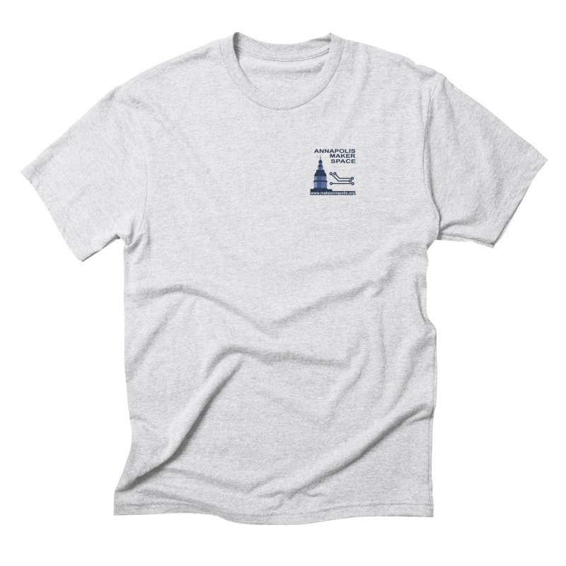 Logo - Small Men's Triblend T-Shirt by Annapolis Makerspace's Shop