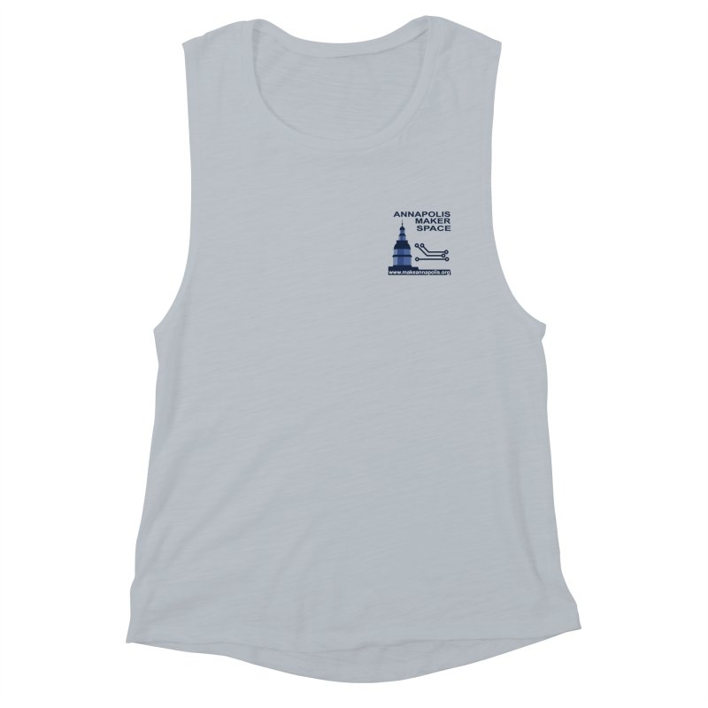 Logo - Small Women's Tank by Annapolis Makerspace's Shop