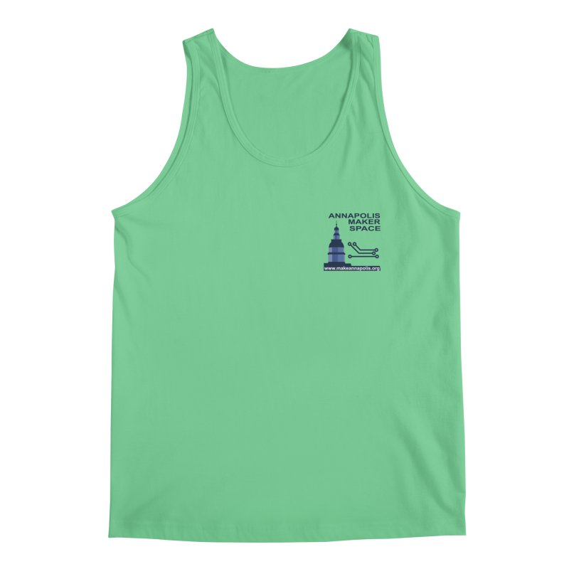 Logo - Small Men's Regular Tank by Annapolis Makerspace's Shop