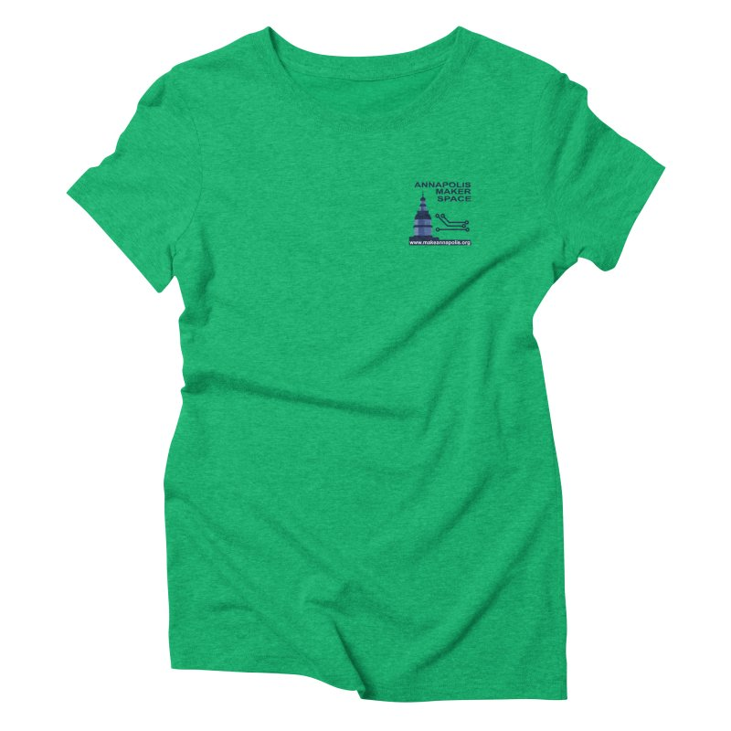 Logo - Small Women's Triblend T-Shirt by Annapolis Makerspace's Shop
