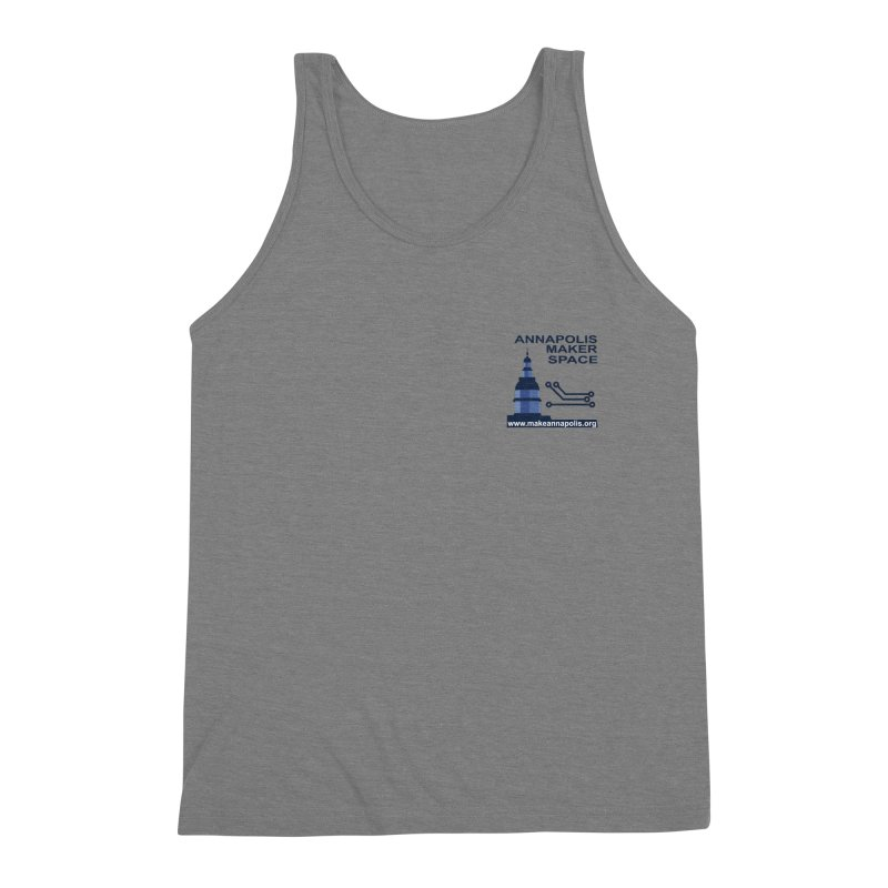 Logo - Small Men's Triblend Tank by Annapolis Makerspace's Shop