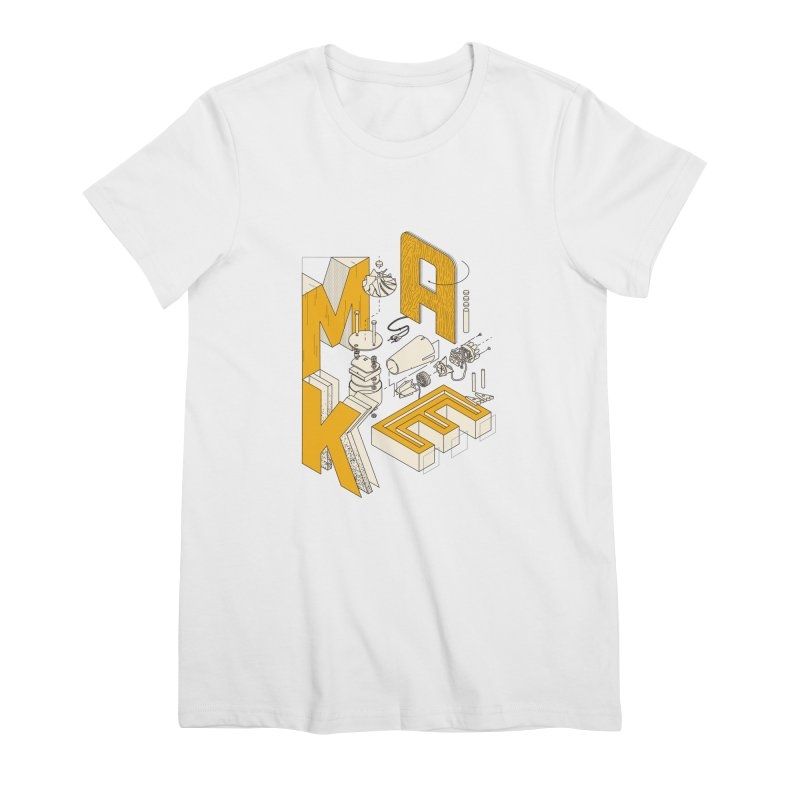 ISO_MAKE color edition Women's T-Shirt by Maker Wear