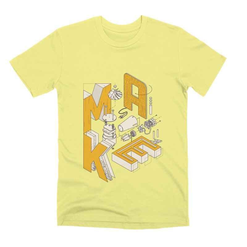 ISO_MAKE color edition Men's T-Shirt by Maker Wear