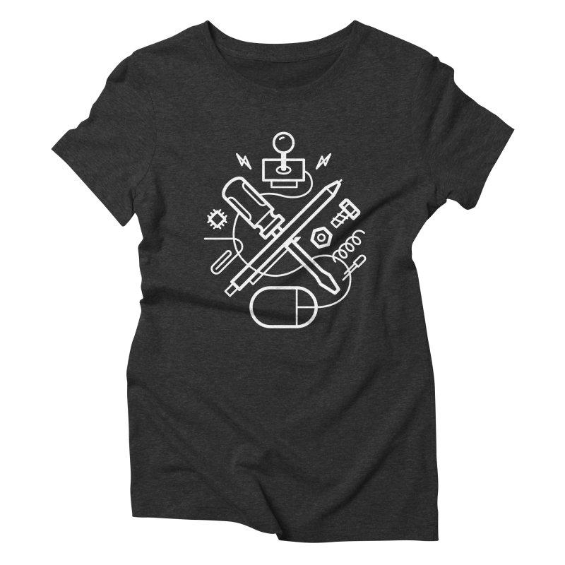 Maker tools Women's Triblend T-Shirt by Maker Wear
